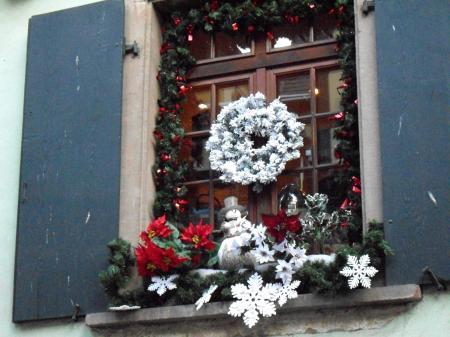 Riquewihr 68 march de no l les bons restaurants for Decoration fenetre exterieur noel
