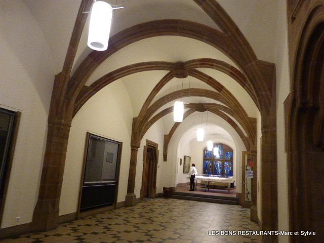 Sarrebruck allemagne la mairie les bons restaurants for L interieur d un couvent