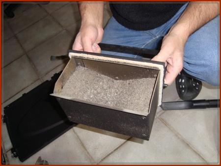 3 d cembre 2010 premier nettoyage du po le pellets la guillaumette - Aspirateur cendre pellet ...