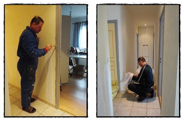 La r novation du couloir 24 f vrier 2012 la guillaumette - Couloir gris anthracite ...
