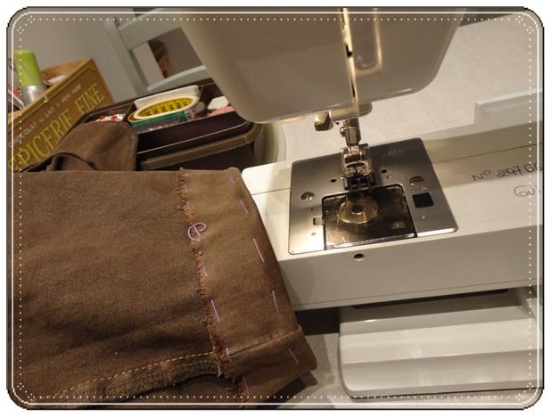 Machine coudre et ourlets de pantalon 12 f vrier 2012 la guillaumette - Faire un ourlet de pantalon ...