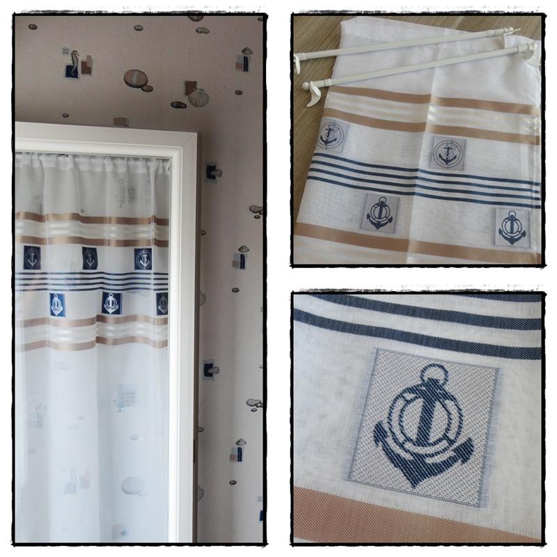 Mes nouveaux rideaux 28 juin 2014 la guillaumette - Rideaux style marin ...
