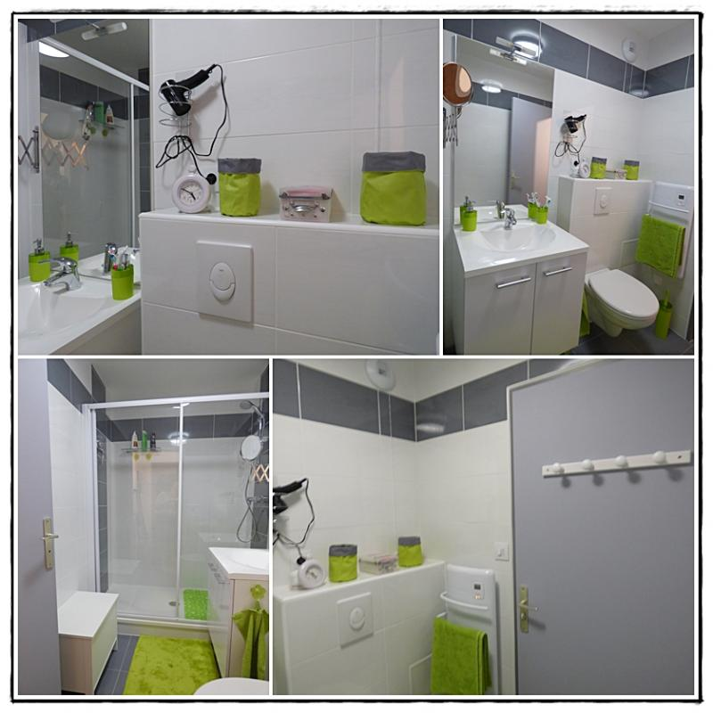 Beautiful Salle De Bain Vert Anis Images - Awesome Interior Home ...