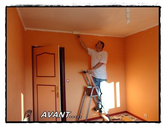 Travaux dans la chambre bricolage 21 janvier 2012 la guillaumette - Choix de peinture pour chambre ...