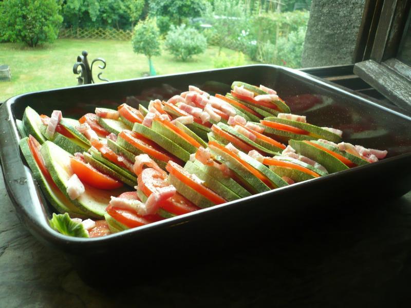 Courgettes rondes en cuisine le blog de titanique - Cuisiner courgettes rondes ...