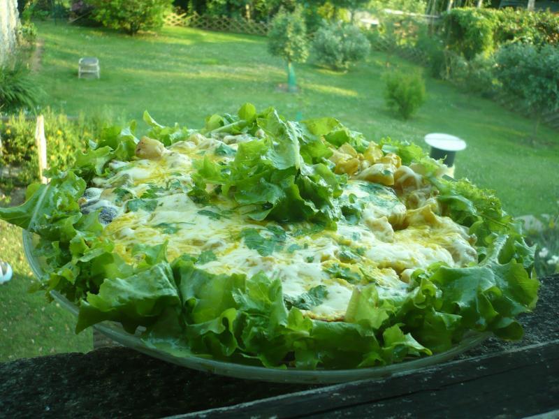 Tortilla a la campagnarde le blog de titanique for Le jardin fromager